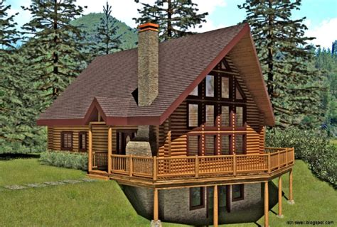 small log cabin designs and floor plans