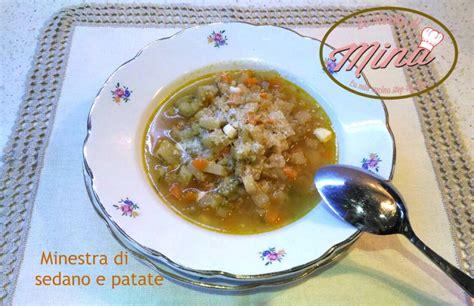 minestra sedano e patate minestra di sedano e patate le ricette di mina