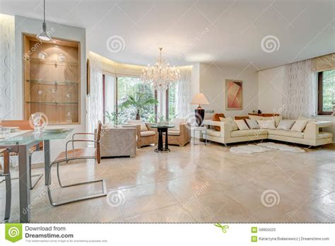 spacious living room modern spacious living room stock photo image 59955023