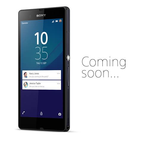 z for android lollipop sony n oublie pas le xperia z de premi 232 re g 233 n 233 ration frandroid