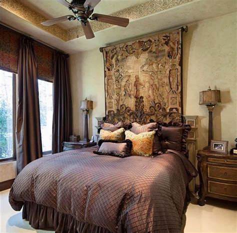 Tuscan Bedroom Decorating Ideas 41 Best Images About Tuscan Bedroom Decor On Curtain Headboards Gold And World