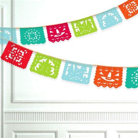 printable fiesta banner fiesta banner diy printable papel picado by paperfoxdesign