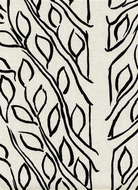 Outline Textiles by Tree Outline From Borderline Fabrics The Textile Files Black G