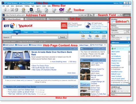 Bt Address Finder By Name Getting Started With The Bt Yahoo Browser Launching The Browser