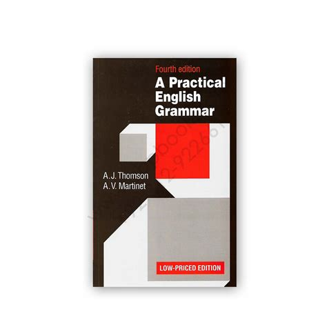 Tomson And Martinet Grammar a practical grammar 4th edition by thomson martinet oxford cbpbook pakistan s