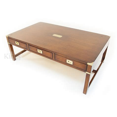 Cherry Coffee Table Reh Kennedy Cherry Coffee Table In Cherry And Brass