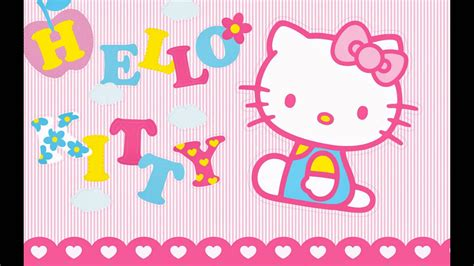 wallpaper ruangan hello kitty hello kitty wallpaper so cute youtube