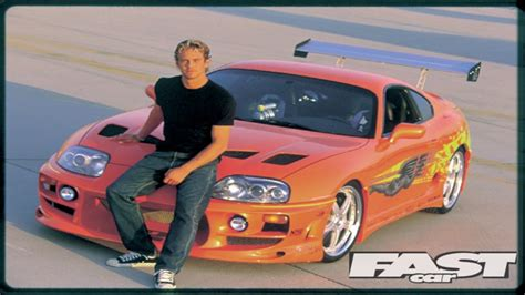 Toyota Supra Remake Slrr The Fast And The Furious Paul Walker Tribute