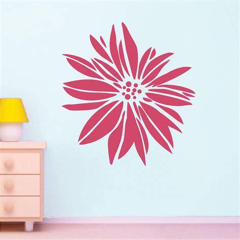 Wallsticker Flower flower wall decal floral wall from trendy wall designs