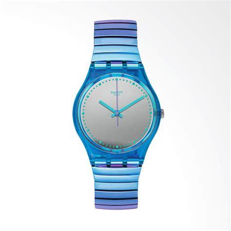 Jam Tangan Swatch Biru jual swatch gl117b flexicold s jam tangan pria biru