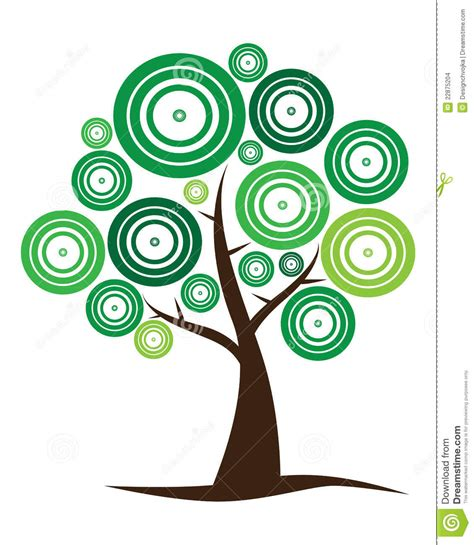 Vector Tree Logo Stock Vector Illustration Of Beautiful 22875204 Logo With Abstract Tree Vector Free