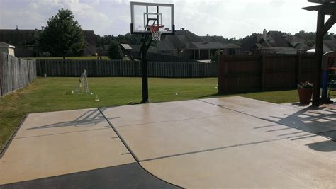 concrete for backyard nice backyard concrete slab for playing ball