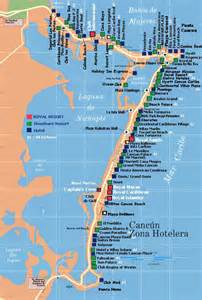 map of cancun hotel zone 2013 here isa map of the cancun