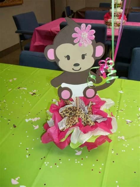 Diy Monkey Baby Shower Decorations by 25 Best Ideas About Baby Shower Monkey On