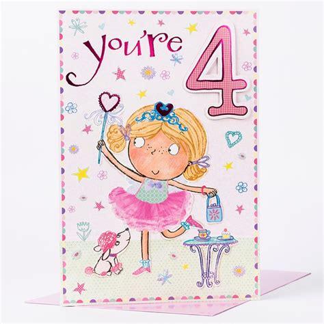 4 Birthday Card