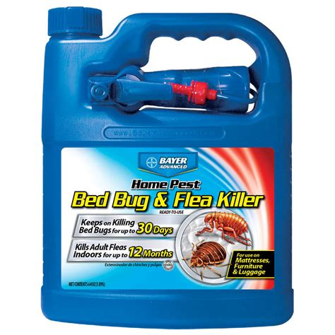 lowes bed bug spray shop bayer advanced bed bug flea killer 64 fl oz insect