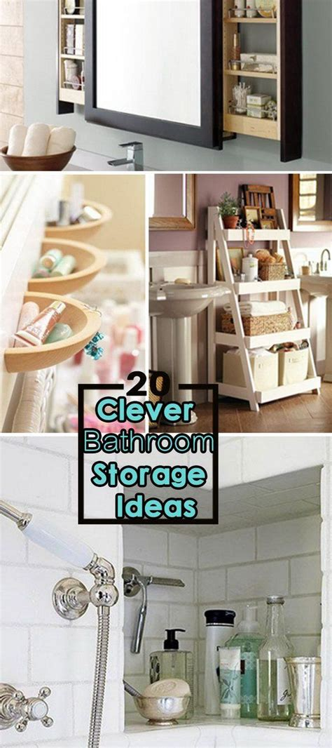 clever bathroom ideas best 25 clever bathroom storage ideas on pinterest