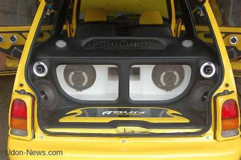 1 Ora Auto Tuning Music 2013 Download by Small Car Big Sound In Udon Thani Thailand Udon News