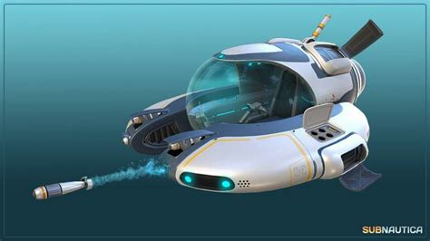subnautica seamoth submarine cool stuff pinterest