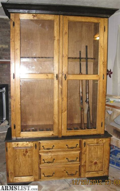 free woodworking plans gun cabinet armslist for sale trade gun cabinet plans
