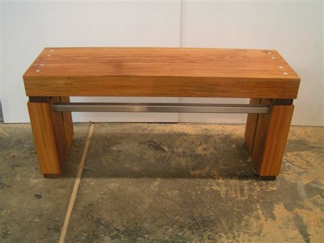 custom wood bench handmade reclaimed wood bench by hadquarters custommade com