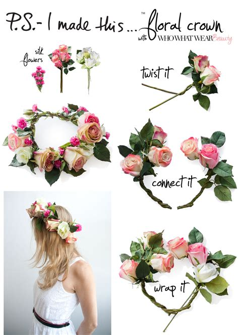 How To Make A Flower Crown Out Of Paper - style diy flower crown gimme style