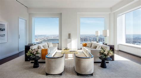 4 Bedroom Luxury Apartment Floor Plans by 432 Park Avenue Condominiums