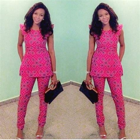 ankara designs for women trouser and jacket styles complete ankara styles trouser inspired a million