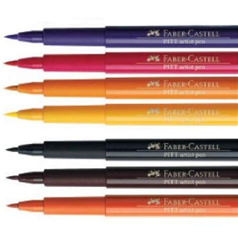 pitt colors faber castell pitt artist brush pen single colours