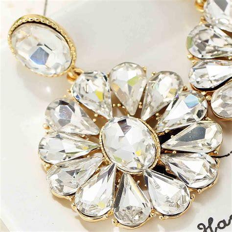 Handmade Glass Earrings - new elegance fashion earrings handmade glass flower