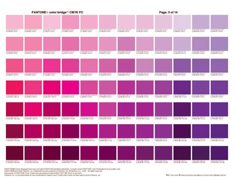 shades of purple color chart molokai piper picked a peck of pickled peppers