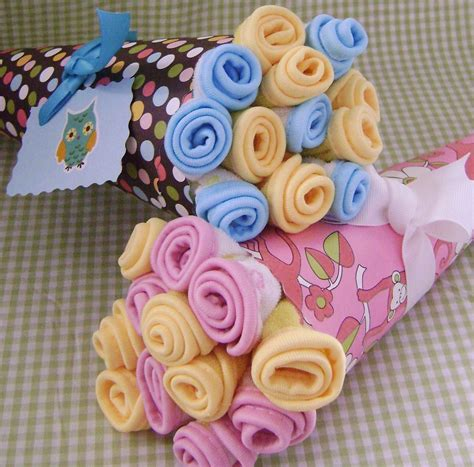 Baby Shower Washcloth Bouquet opie squeaky clean baby gifts