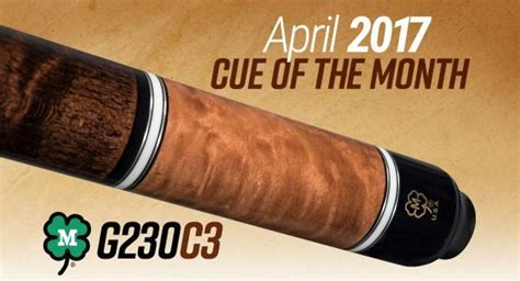 Mcdermott Cue Giveaway - mcdermott announces cue of the month giveaway for april 2017 news azbilliards com