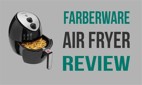read  farberware air fryer review