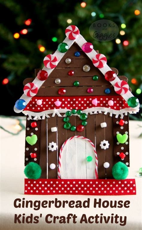 gingerbread house for kids 518 best images about popsicle crafts for kids to make on pinterest crafts