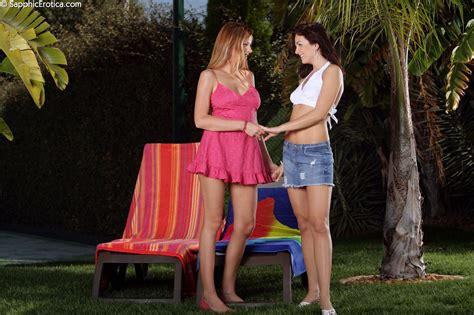 Sapphicerotica Lesbian Billy Isabella Hot Golfers Have Sex