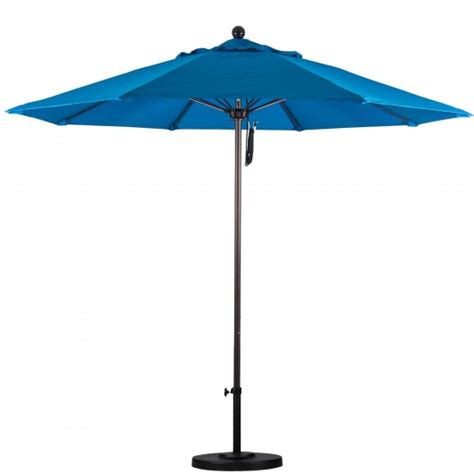 patio umbrella sunbrella 11 ft sunbrella pulley patio umbrella with bronze pole
