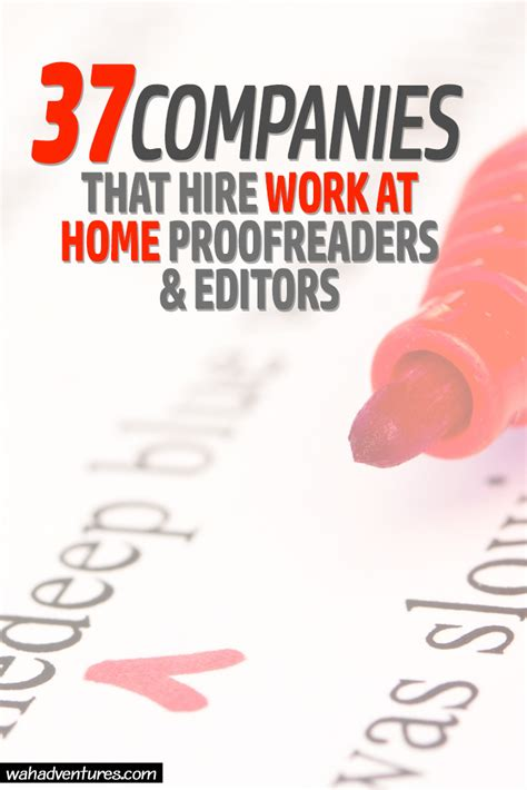Work Online From Home Free To Join - 37 work from home proofreading and editing jobs online