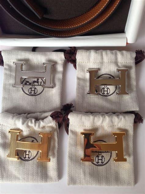 Belt Hermes Navy Mirror authentic hermes h constance buckle set 4 buckles at 1stdibs