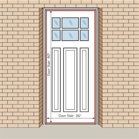 measure  front entry door replacement exterior