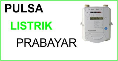 Token Listrik Pln Prabayar 500000 jual pulsa elektrik dan token pln