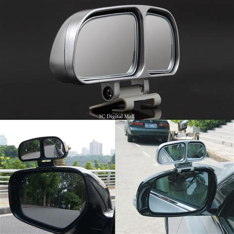 Aksesoris Spion Mobil Car Side Blind Spot Mirror Wide Angle Rearview 1 pair car rearview mirror vehicle wide angle blind spot