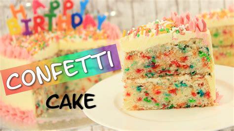 Kuchen Torte by Confetti Cake Konfetti Kuchen Funfetti Cake