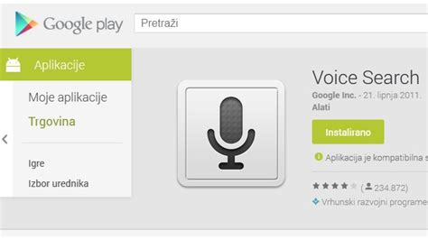 voice search android voice search na android jelly beanu od danas i na hrvatskom jeziku racunalo