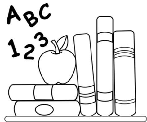 teacher apple coloring page free school clipart image 0515 1012 2300 1814 book clipart