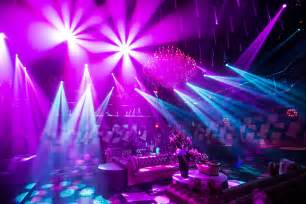 elation lighting as gold at exclusive atlanta nightclub