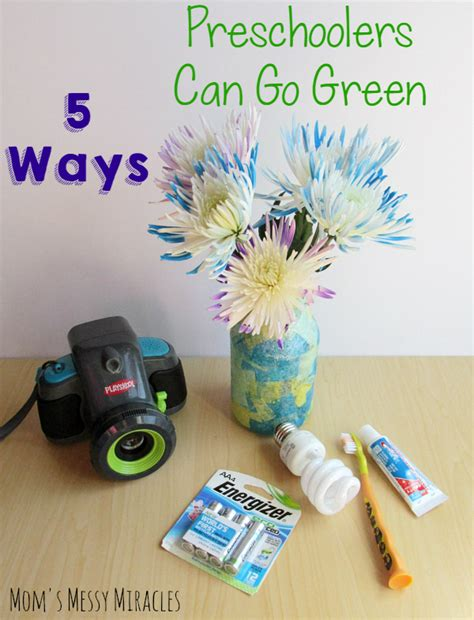 Can Go Green by 5 Ways Preschoolers Can Go Green The Shirley Journey