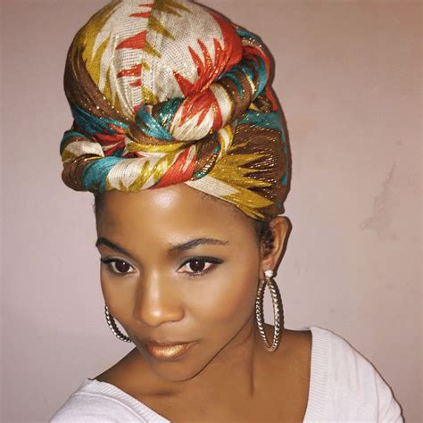 the wrap hair styles love this scarf naturalhair pinterest scarfs