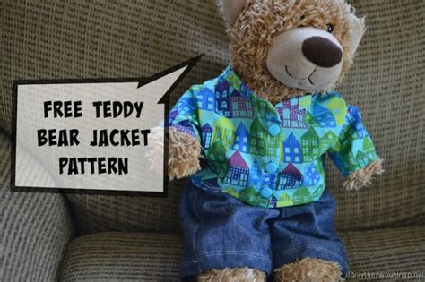 t shirt pattern for a teddy bear handmade gifts for boys day 4 teddy bear dress up