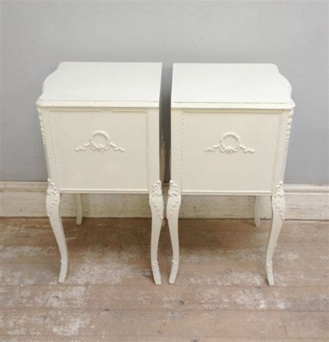 vintage bedside table a3945 pair of vintage bedside tables